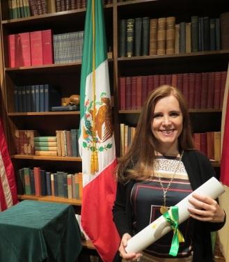 Elisa Guerra , de México, recibió el Premio de Humanidad y Ciencia Raymundo  Veras